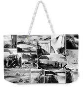 Vintage Niagara Falls Weekender Tote Bag