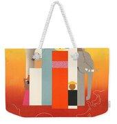 Vintage Oriental Tourist Conference Poster Weekender Tote Bag