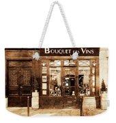Vintage Paris 4 Weekender Tote Bag