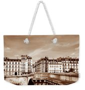 Vintage Paris 8 Weekender Tote Bag