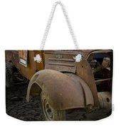 Vintage Pickup On Parched Earth Weekender Tote Bag