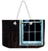 Vintage Porch Window And Gas Can Weekender Tote Bag