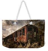 Vintage Rail Car Weekender Tote Bag