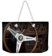 Vintage Rolls Royce Dash Weekender Tote Bag