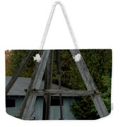 Vintage Stump Puller Weekender Tote Bag
