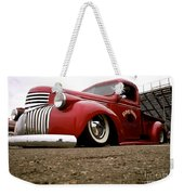 Vintage Style Hot Rod Truck Weekender Tote Bag