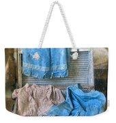 Vintage Trunk With Ladies Clothing Weekender Tote Bag