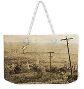 Vintage View Of Ontario Fields Weekender Tote Bag