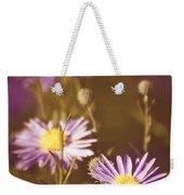 Vintage Violet  Weekender Tote Bag