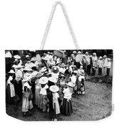 Vintage Workers Weekender Tote Bag