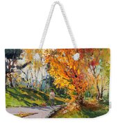 Viola In A Nice Autumn Day  Weekender Tote Bag