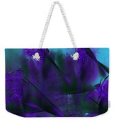 Violet Growth Weekender Tote Bag
