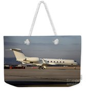 Vip Jet C-37a Of Supreme Headquarters Weekender Tote Bag by Timm Ziegenthaler