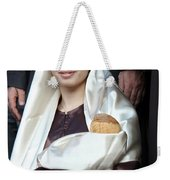 Virgin Mary And Baby Jesus At 4th Annual Christmas March Weekender Tote Bag