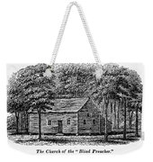 Virginia: Church Weekender Tote Bag