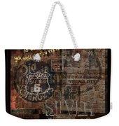 Virginia City Nevada Grunge Poster Weekender Tote Bag