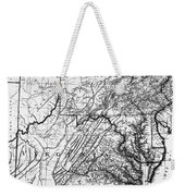 Virginia: Map, C1784 Weekender Tote Bag