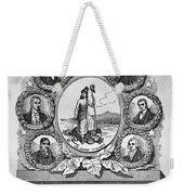 Virginia: Motto Weekender Tote Bag