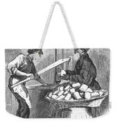 Virginia: Tobacco, 1879 Weekender Tote Bag