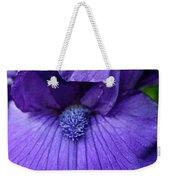 Vision In Violet Weekender Tote Bag