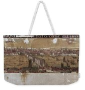 Visscher: London, 1650 Weekender Tote Bag