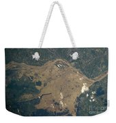 Vistula River Flooding, Southeastern Weekender Tote Bag by NASA/Science Source