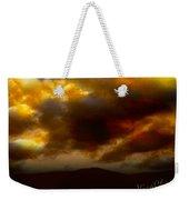Vivachas Golden Hour Sunset Glowing Clouds  Weekender Tote Bag