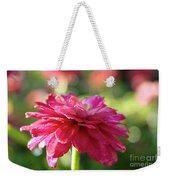 Vivid Floral Weekender Tote Bag