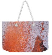 Volcanic Eruption, Spatter Cone Weekender Tote Bag