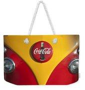 Volkswagen Vw Bus Coco Cola Emblem Weekender Tote Bag