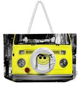 Volkswagon Hippie Bus Weekender Tote Bag