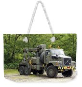 Volvo N10 Truck Crane Of The Belgian Weekender Tote Bag by Luc De Jaeger