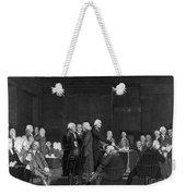 Voting Independence, 1776 Weekender Tote Bag