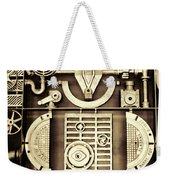 Vulcan Steel Steampunk Weekender Tote Bag