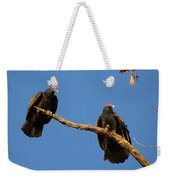 Vultures On A Branch Weekender Tote Bag