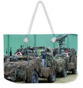 Vw Iltis Jeeps Of A Recce Scout Unit Weekender Tote Bag