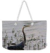 Wading Blue Heron - Ardea Herodias Weekender Tote Bag