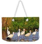 Wading Ibises Weekender Tote Bag