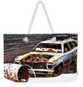 Wagon Of Rust Weekender Tote Bag
