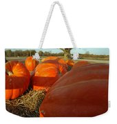 Wagon Ride For Pumpkins Weekender Tote Bag