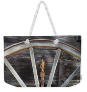 Wagon Wheel Detail Weekender Tote Bag