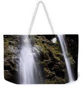 Waikani Falls And Pond Weekender Tote Bag