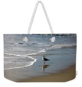 Waiting For Lunch On Shore Weekender Tote Bag