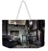 Waiting For The Gas Pressure To Rise Weekender Tote Bag