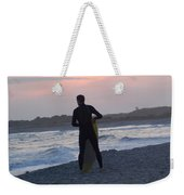 Waiting For The Wave Weekender Tote Bag