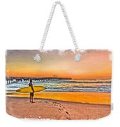Waiting For Waves Weekender Tote Bag