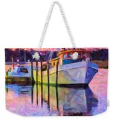 Waiting In The Harbor Weekender Tote Bag