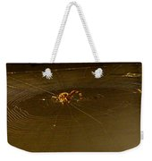 Waiting Spider Weekender Tote Bag