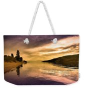 Waiting With The Light Weekender Tote Bag