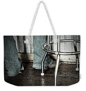 Waitress In Boots Weekender Tote Bag by Chris Berry